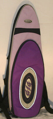 Gig Padded Purple Soprano Saxophone Carry Case Gig Bag Instrument Protection