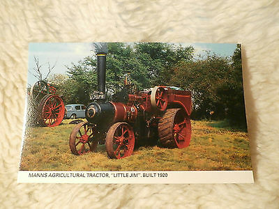 @ Postcard - Manns Agricultral Tractor - Little Jim - Built 1920 (C9)