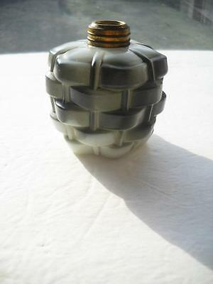 Mini Oil Lamp Oil Reservoir Only - Missing Burner And Globe - Excellent Cond.
