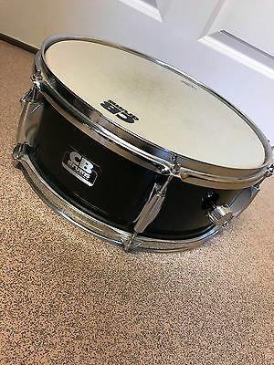 "CB Drums Black 14"" Snare Drum SP Series"