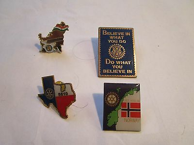 Badges Group Of Rotary International Society