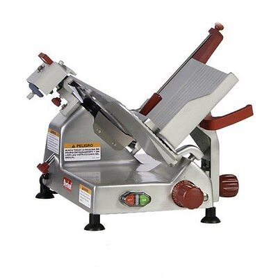 "Berkel (825A-Plus) 10"" Manual Gravity Feed Meat Slicer 1/3 Hp"