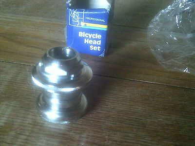 BMX  CHROMED STEEL HEADSET, 32.5mm CUPS, 21.1mm STEM