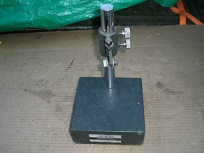 dial indicator Comparator gage stand 6 x 6 granite