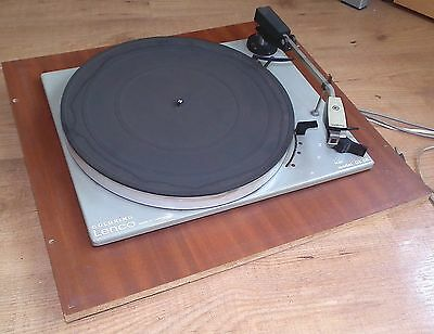 Vintage Goldring Lenco GL 68 Record Player Hi Fi Turn Table Breaking For Parts
