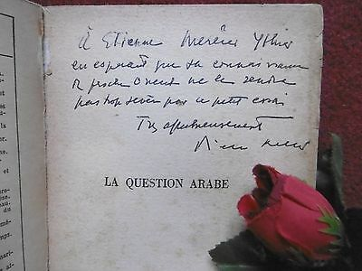 Pierre Keller : La Question Arabe 1948