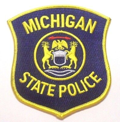 Michigan State Police Patch Unused