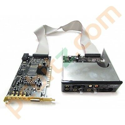 Creative Labs SB0460 X-fi Fatality Sound Blaster PCI Sound Card + Front Panel