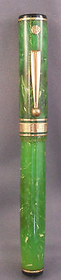 Wahl-Eversharp Gold Seal Deco Band Jade Fountain Pen