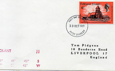 1969 Falkland Islands to England