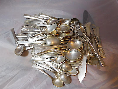 97 Pieces Gorham Governor's Lady Sterling Silver Flatware Set Service 10-12