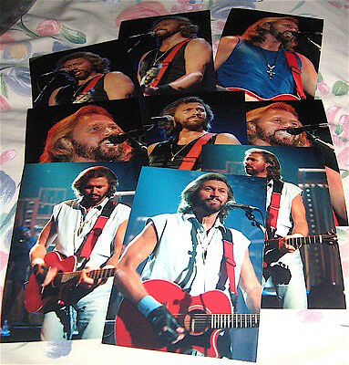Bee Gees  Barry Gibb 9 Photographs ( Pack 2 )