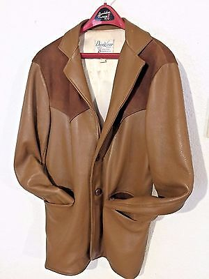 Vintage DeerWear LEATHER JACKET (Men's 38 Long) Martin Archery Family Collection