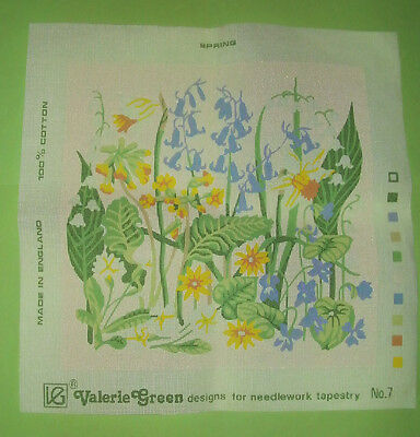 Valerie Green Designs 'Spring'  Printed Tapestry Canvas No.7