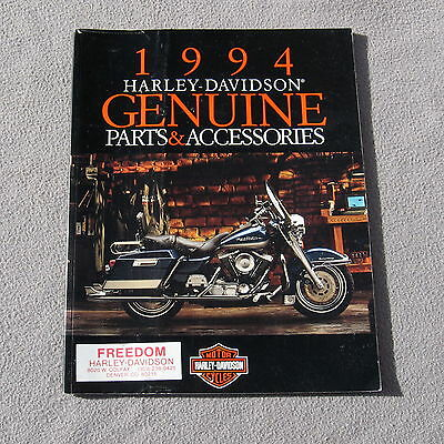Harley Davidson 1994 Catalog Genuine Parts and Accessories Motorcycle 99456-94V