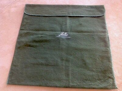 Vintage Halle's Storage Pouch, Purse, Handbag Dust Cover Bag, Green
