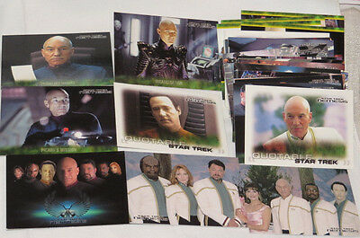 STAR TREK TNG NEMESIS 72 TRADING CARDS Sammelkarten regular set usa Picard