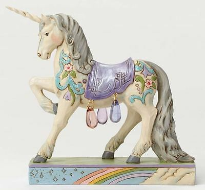Jim Shore Follow Your Dreams Spring Wonderland Unicorn Figurine 4051435 New HWC