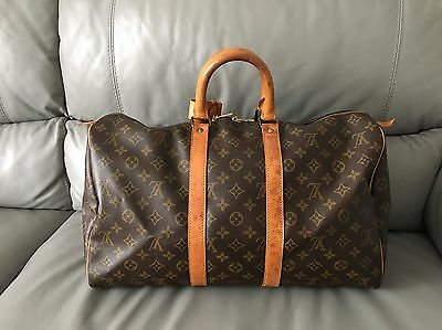 Authentic Louis Vuitton Keepall 45 Travel Gym Bag