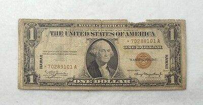 BARGAIN Series 1935-A*STAR HAWAII $1 Silver Certificate Note VERY GOOD Fr#2300*