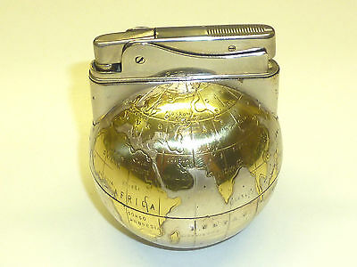 "Zvg ""aristo"" Automatic Table Ball Lighter - Feuerzeug - 1954 - Made In Germany"