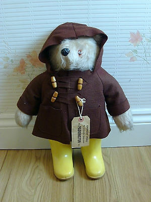 ORIGINAL 1970s PADDINGTON BEAR IN GREAT CONDITION WITH LABEL