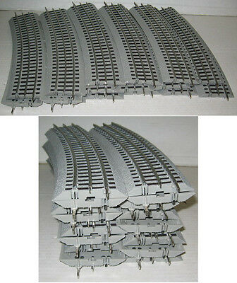 Lionel #12056 Fastrack Fast Track 16 Pieces O60 O-60 Curved Circle O Gauge Train