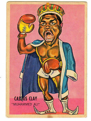Cassius Clay Muhammed Ali 1967 Sport Card. Boxing!!