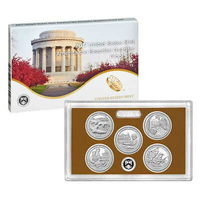 2017 United States Mint America the Beautiful Quarters Proof Set™ (17AP)