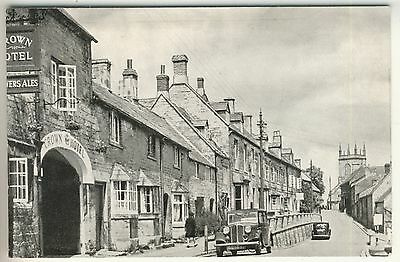 A Printed Post Card of High Street, Blockley. Gloucestershire