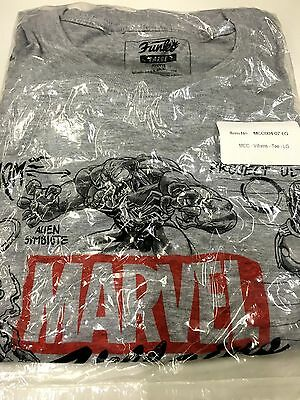 ***marvel Collectors Corps Exclusive Villains Large T Shirt*** Brand New Sealed