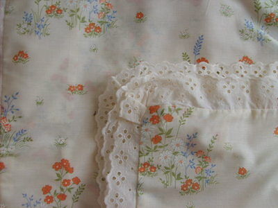 """PAIR  COTTON PILLOW  CASES  29"""" x 19""""  CREAM EDGED WITH LACE  BNWOT"""