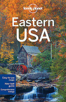 Eastern USA United States America LONELY PLANET Travel Guide 2016