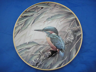 Lovely Decorative Plate - R.S.P.B. Centenary Collection Featuring a Kingfisher