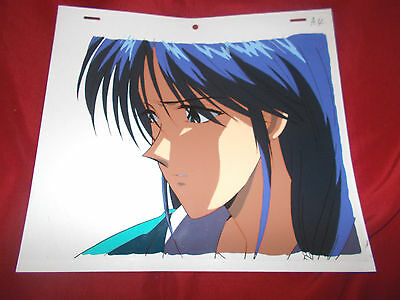 Fushigi Yuugi Yugi The Mysterious Play Anime Cel of Noriko's brother Rouko