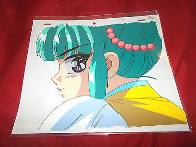 Fushigi Yuugi Yugi The Mysterious Play Anime Cel of Nyan Nyan with Douga Sketch