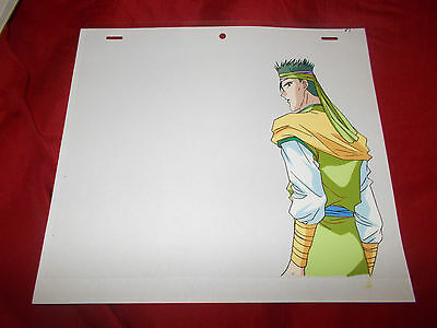 Fushigi Yuugi Yugi The Mysterious Play Anime Cel of Mitsukage with Douga Sketch
