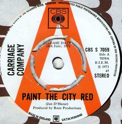 Carriage Company -Paint The City Red -Top Notch Rocker Demo 1971 HEAR!