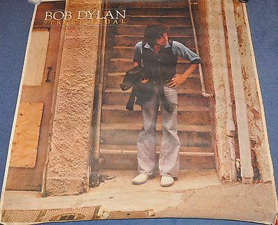Bob Dylan - Street Legal - Large Promotional Poster 1978