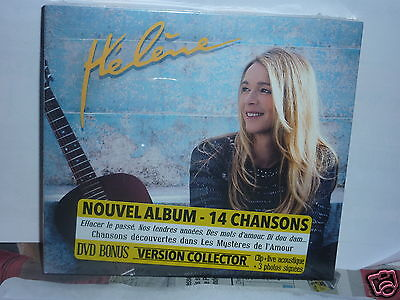Rare Album Collector Cd + Dvd  Helene Rolles Edition Digipack 2016  Neuf Cc