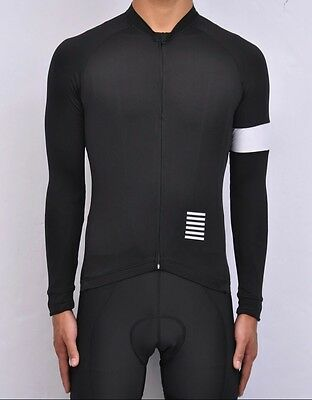 Pro Team Style Long Sleeve Cycling Jersey (X-Large)