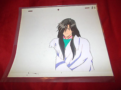 Fushigi Yuugi Yugi The Mysterious Play Anime Cel of Crossdressing Hotohori RARE!