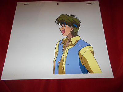 Fushigi Yuugi Yugi The Mysterious Play Anime Cel of Amiboshi from the Omake RARE