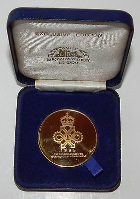 The Queens Award For Technological Achievement 1985 - Exclusive Edition Medal