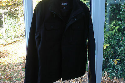 Michael Kors Black Casual Jacket Size Medium
