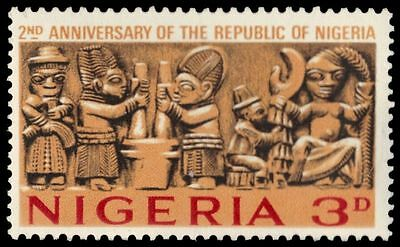 "NIGERIA 181 (SG169) - Independence ""Carved Frieze"" (pa39559)"
