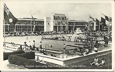 Butlins Clacton On Sea The Outdoor Swimming Pool C7 Pc