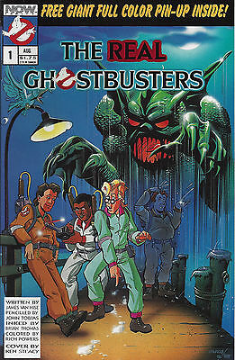 THE REAL GHOSTBUSTERS  #1  Aug 88