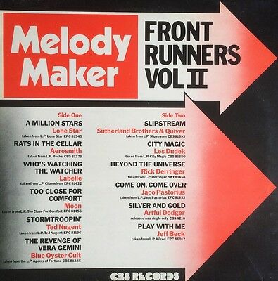 Melody Maker - Front Runners Vol.ii  ( Lp - 1976 ) Various