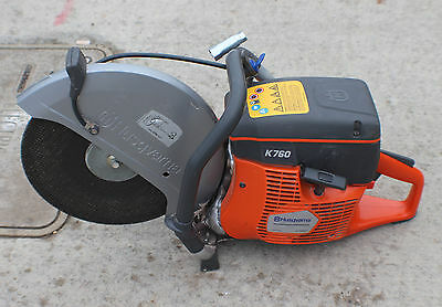 """Husqvarna K760 14"""" Gas Concrete Cut-Off Saw With Water Line"""